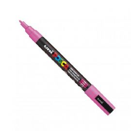 Posca - PC-3M Fine Bullet Tip - Water Based Paint Marker - Pink